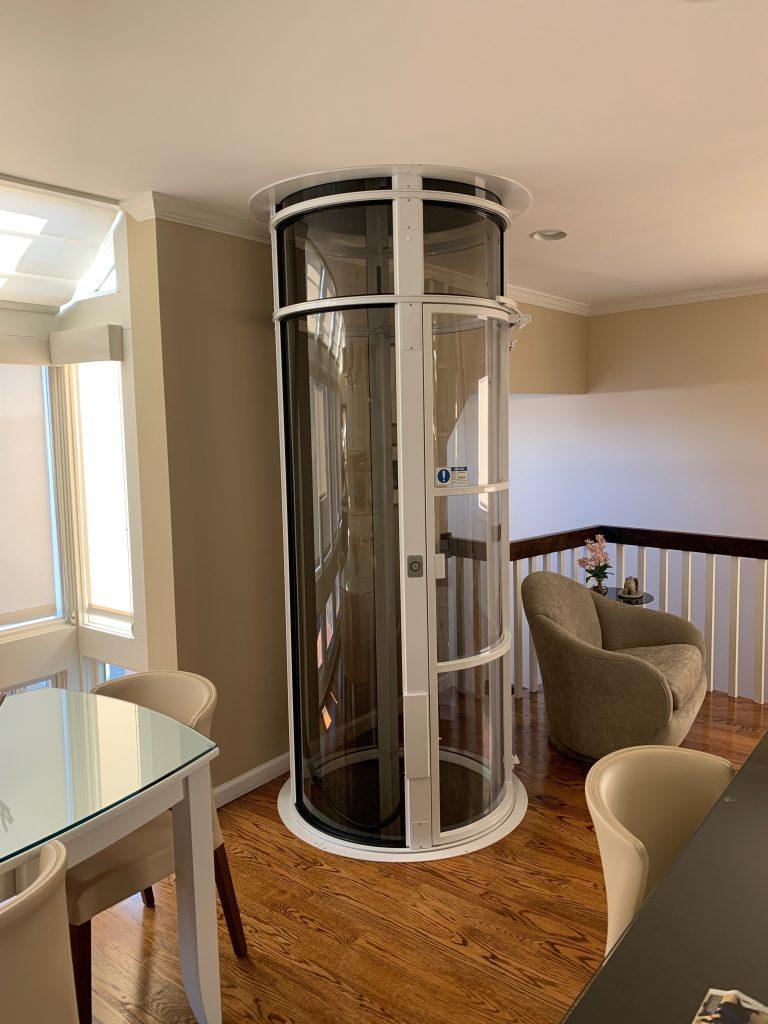 vacuum elevator in home